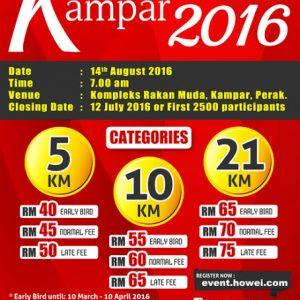 Kampar Half Marathon 2016