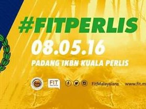 Fit Malaysia – FM Run Perlis 2016