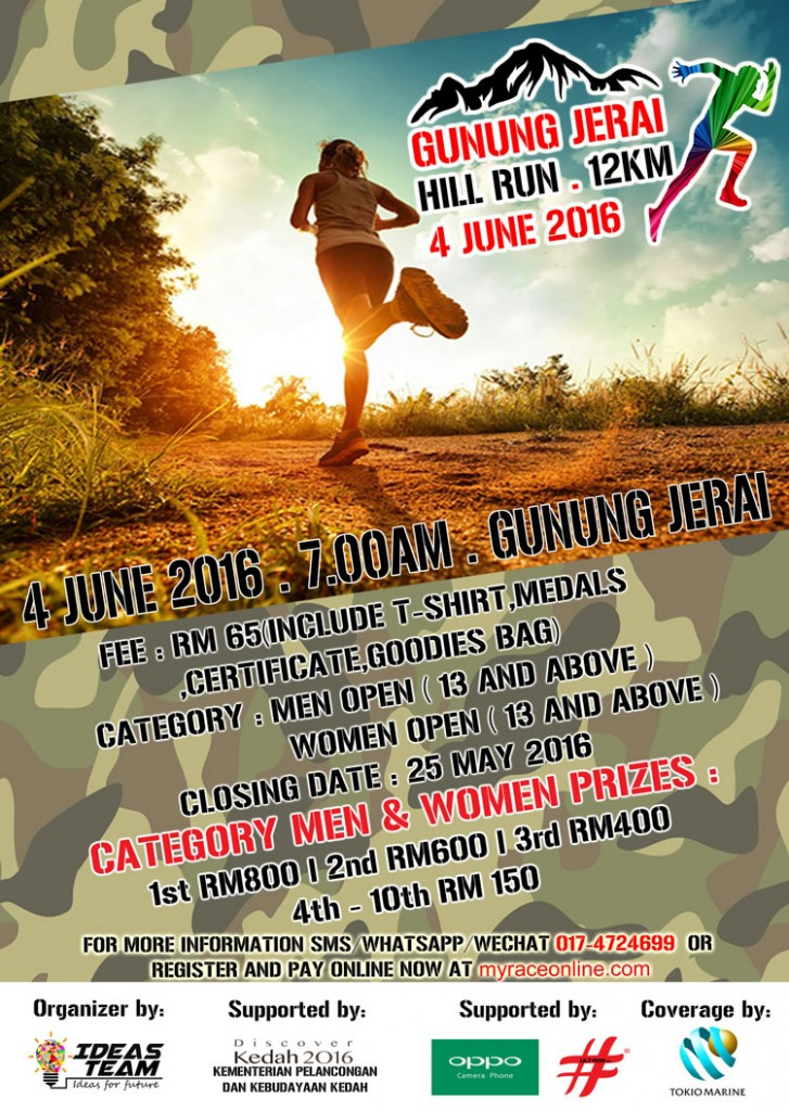 Gunung Jerai Hill Run 2016