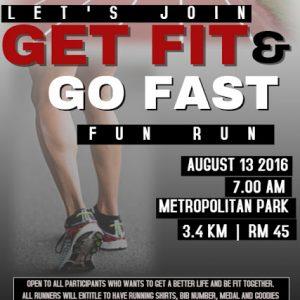 Get Fit, Go Fast, Fun Run 2016