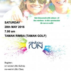 Larian Pelangi 'Rainbow Run' Kedah 2016