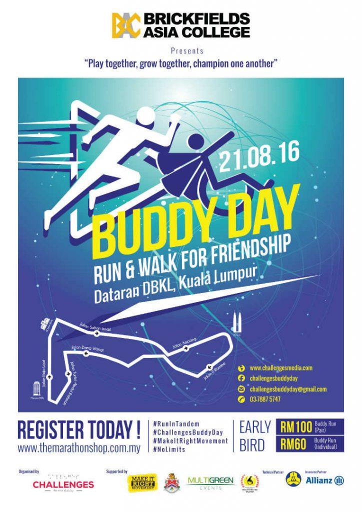 Challenges Buddy Day 2016: Run & Walk For Friendship