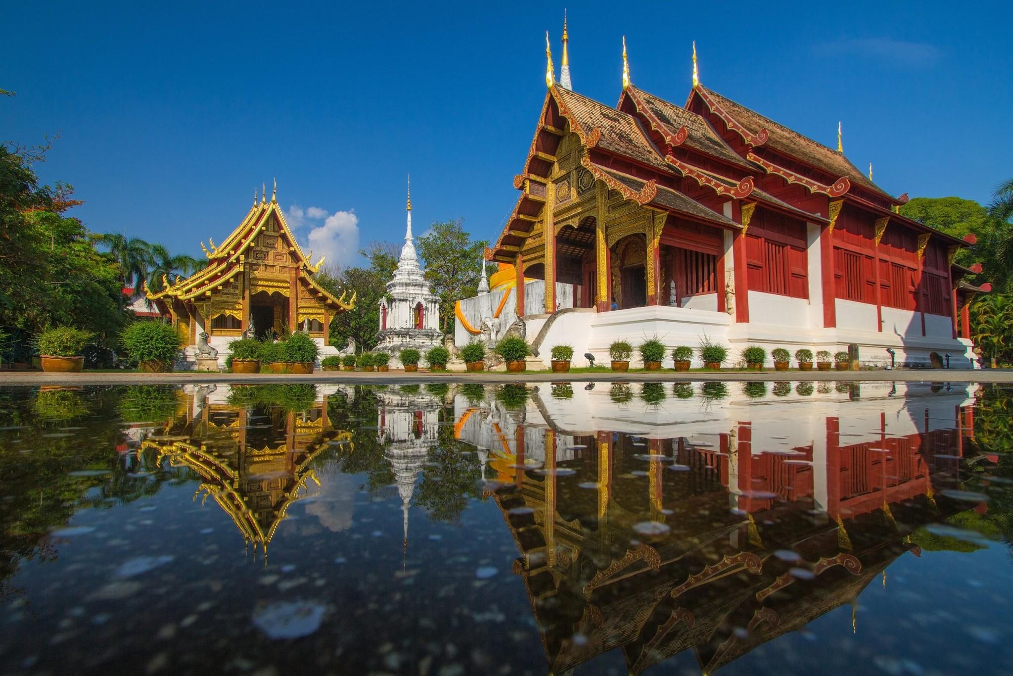 Chiang Mai, Thailand wat pra sing