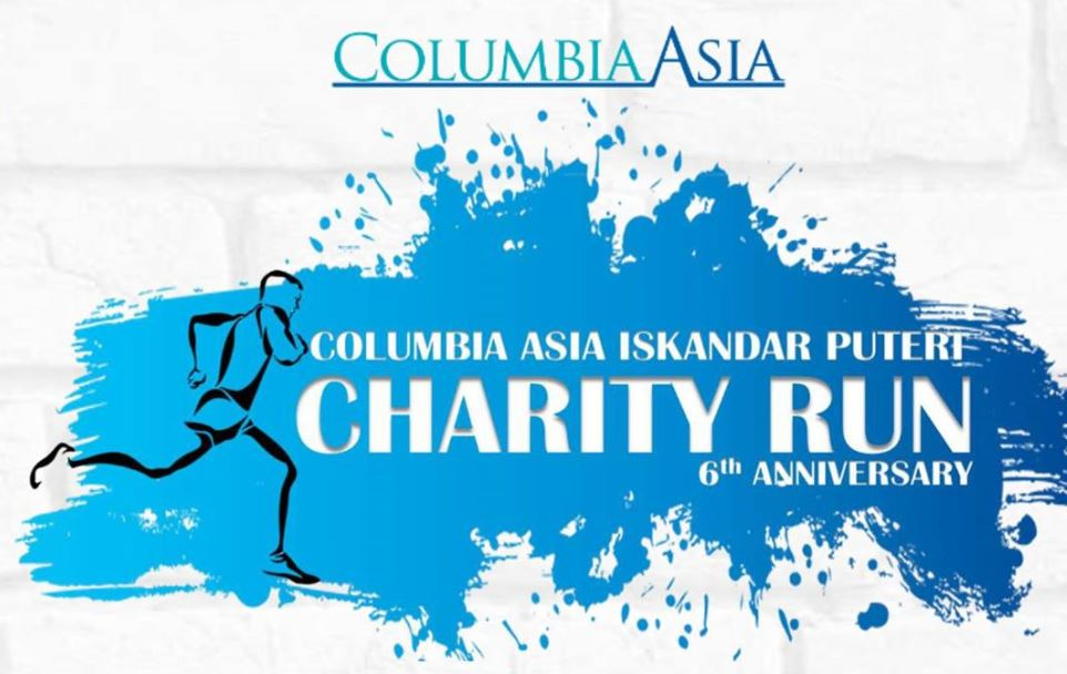 Columbia Asia Iskandar Puteri 6th Anniversary Charity Run