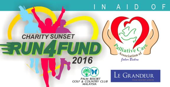 Palm Resort Sunset Charity Run4Fund 2016