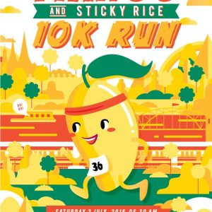 Mango & Sticky Rice 10k Run 2016