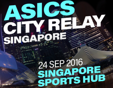 ASICS City Relay Singapore 2016