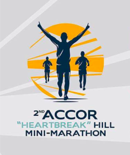 2nd Accor Hotels Heartbreak Hill Mini-Marathon 2016