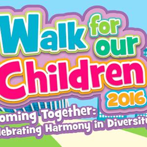 Walk for Our Children 2016