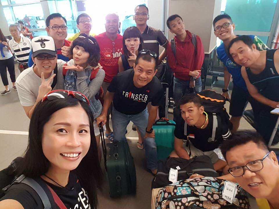 Gatherings at Penang Airport