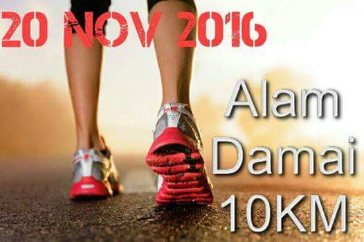 Alam Damai 10km Run 2016