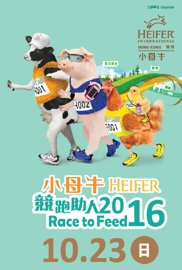 Heifer Race to Feed 2016