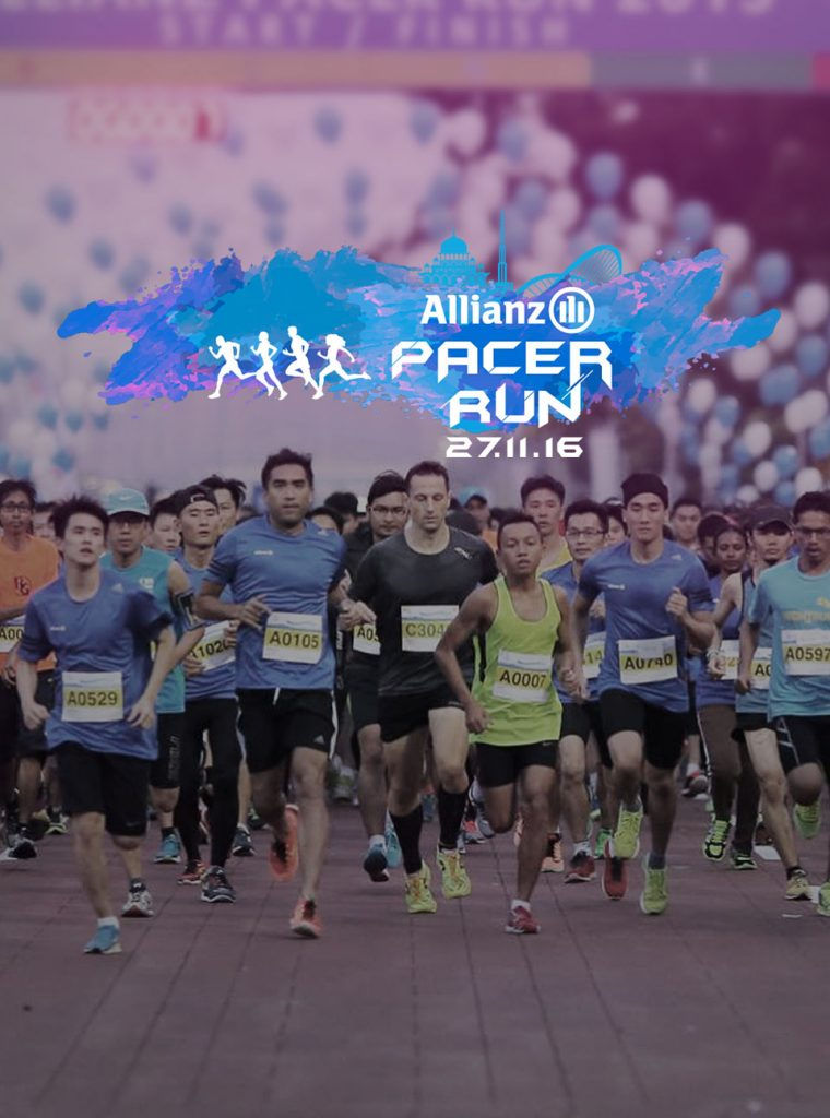 Allianz Pacer Run 2016