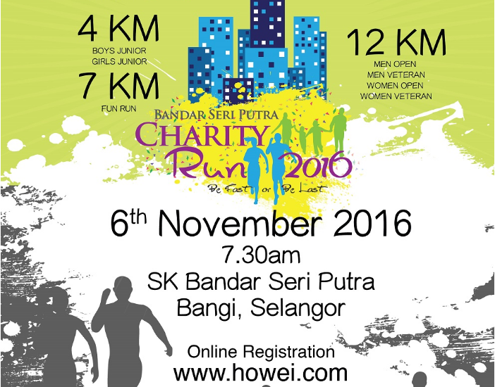Bandar Seri Putra Charity Run 2016