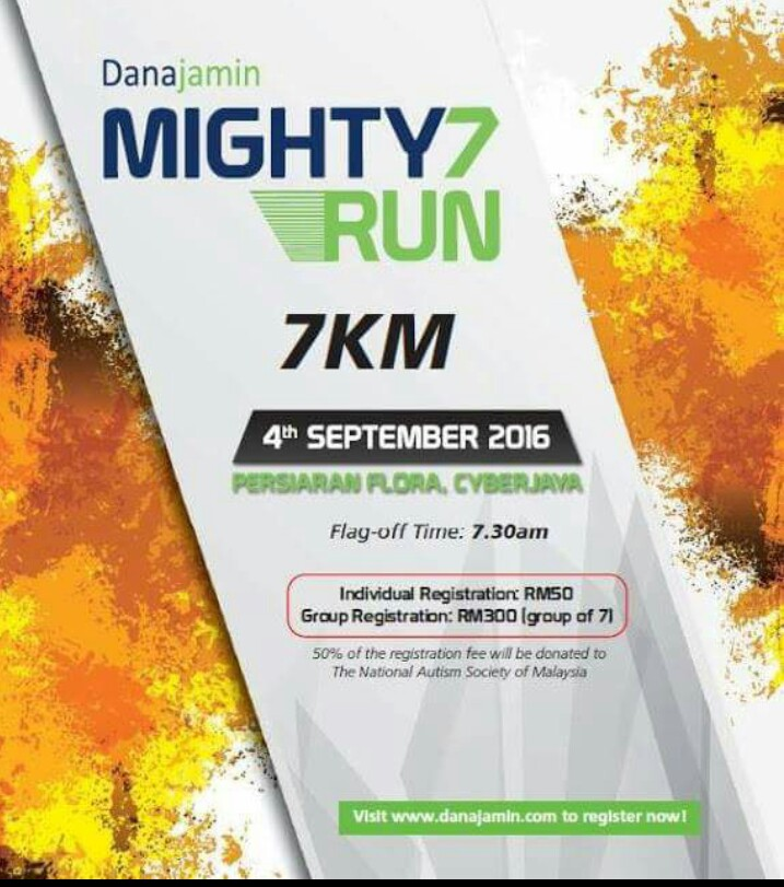 Danajamin Mighty7 Run 2017