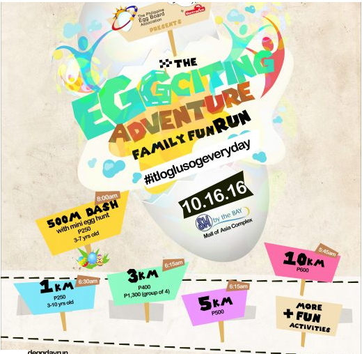 Eggciting Fun Run 2016
