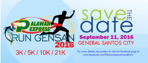 Palawan Express Run GenSan 2016
