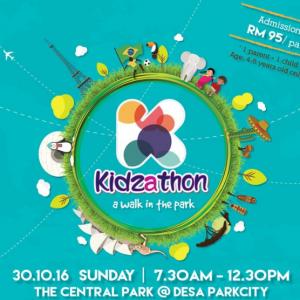 Kidzathon – A Walk In The Park 2016