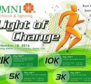 Omni Light of Change Run 2016