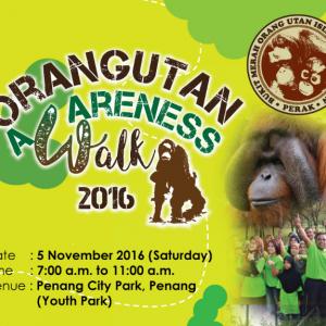 Orangutan Awareness Walk 2016
