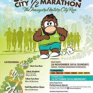 Sandakan City Half Marathon 2016