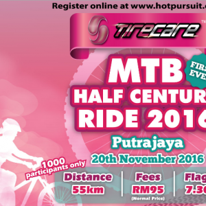 Tirecare MTB Half Century Ride Putrajaya 2016