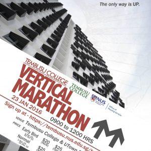 Tembusu Vertical Marathon 2017