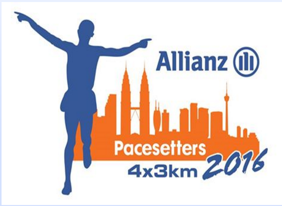 Allianz Pacesetters 4x3km 2016