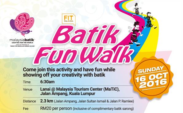 Batik Fun Walk 2016