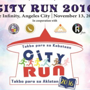 City RUN 2016: Takbo para sa Kabataan