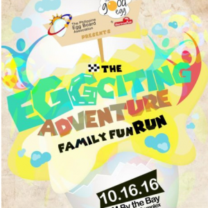 The Eggciting Adventure Family Fun Run 2016