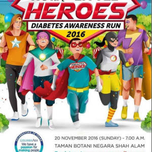 Run For Our Little Heroes Diabetes Awareness Run 2016