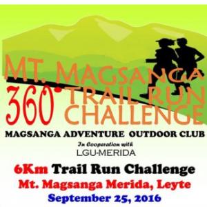 Mt. Magsanga 360 Trail Run Challenge 2016