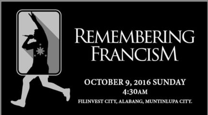 Remembering FrancisM Run 2016