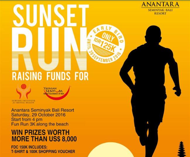 Anantara Seminyak Bali Resort Sunset Run 2016