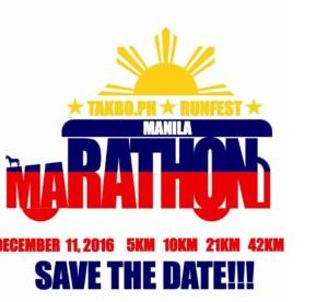 Takbo.ph RunFest Manila Marathon 2016