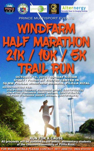 Windfarm Half Marathon 2016