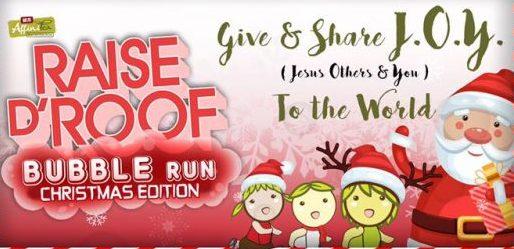 Bubble Run Christmas Edition 2016