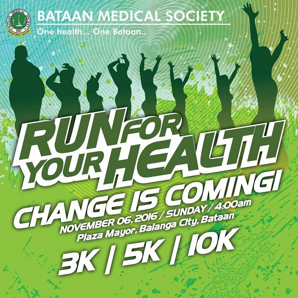 Run For Your Health Bataan 2016
