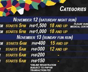 Subic International Marathon 2016 (10 km, 7 km, 5 km and 3 km)