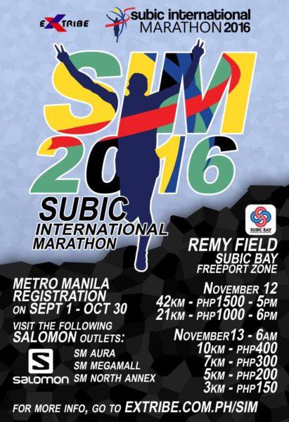 Subic International Marathon 2016 (21 km and 42 km)