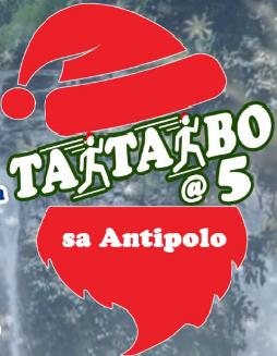 Taktakbo @ 5 sa Antipolo, Dec 2016