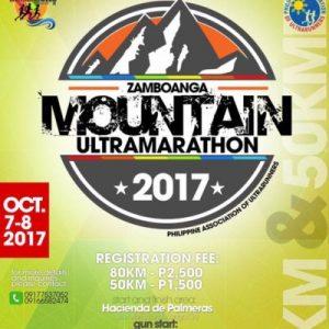 Zamboanga Mountain Ultramarathon 2017 (80 KM)