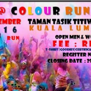 Bingit @ Colour Run 2016
