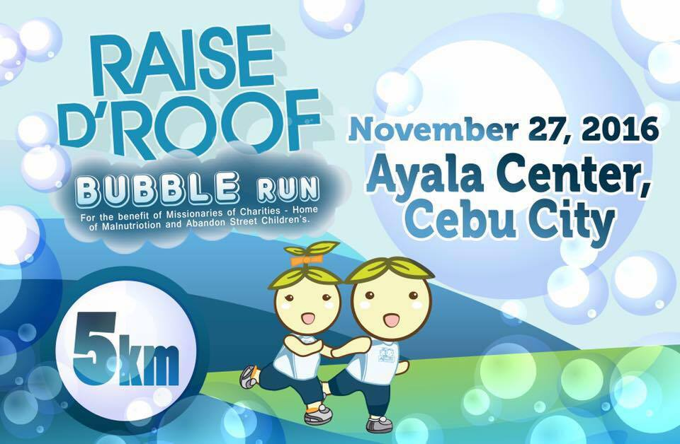Raise D Roof Bubble Run 2016