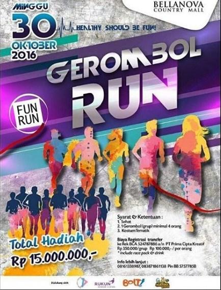 Gerombol Run 2016