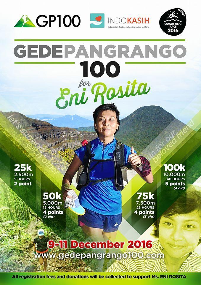 Gede Pangrango 100K 2016