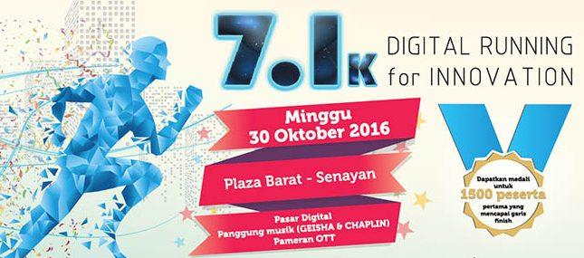 7.1K Digital Running For Innovations 2016