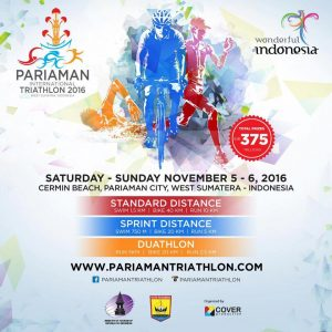 Pariaman International Triathlon 2016