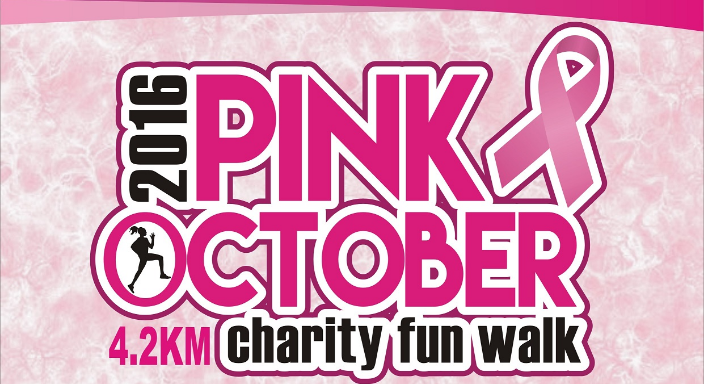 Pink October Charity Fun Walk 2016
